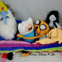 Adventure Time With Finn & Jake Plush Marceline Ice King Lady Ranicorn Toy Doll