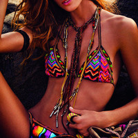 Agua Bendita Patchwork Bikini | Mermaids Boutique
