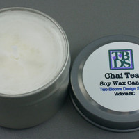 Chai Tea Soy Candle by 2bloomsdesignstudio on Etsy