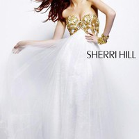 Sherri Hill Dress 21090 at Peaches Boutique