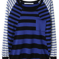 Thakoon Addition / Striped Pocket Pullover | La Garçonne