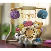 Kitten Novelty Corded Phone by Winston Brands