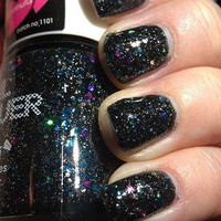 NEW Black Purple Blue Iris Glitter Teal Gold NABI Nail Polish FREE SHIPPING