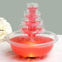 5 Tier LARGE Wedding Punch Fountain Lights for Party Decorations