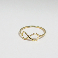 Infinity Ring Size 7 In Gold - Ever.. on Luulla