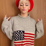 Shopdeserted — American Flag Sweater