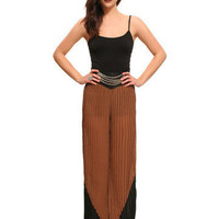 GYPSY WARRIOR - Pleated Palazzo Pants