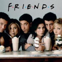 (24x36) Friends Milkshake TV Poster Print