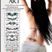 Skin Art Temporary Tattoos Kit