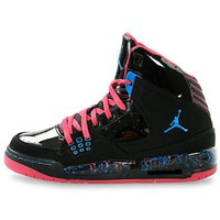 Amazon.com: Nike Air Jordan SC-1 (GS) Girls Basketball Shoes 439655-009: Shoes
