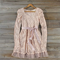 Hearthside Lace Dress, Sweet Women's Bohemian Clothing