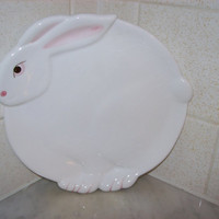 Easter Bunny Dessert Plates