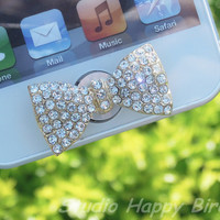 Great Valentine Gift for Her 1PC  Bling Crystal by StudioHappyBird