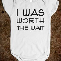 I WAS WORTH THE WAIT one-piece - glamfoxx.com