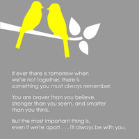 You Are Braver Than You Believe  Winnie the Pooh by karimachal