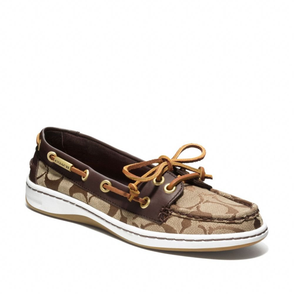 Coach Richelle Boat Shoe From Shoes