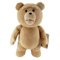 Ted 16-Inch Talking Plush Teddy Bear with Moving Mouth - Commonwealth - Ted - Plush at Entertainment Earth