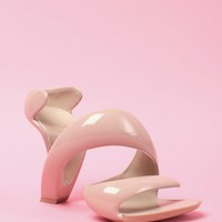 Julian Hakes Mojito Shoe in Nude &amp; Nude