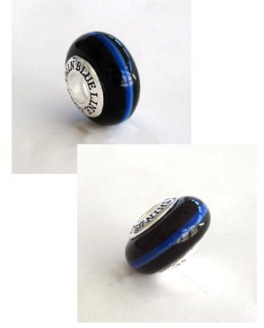 genuine thin blue line charm pandora from jewelryany