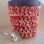 Ice Cream Cozy Red &amp; Pink