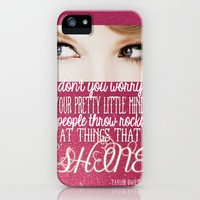 T-Swift iPhone Case by Kayla Gordon | Society6