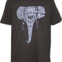 Organic Elephant Pocket T-Shirt: Soul-Flower Online Store