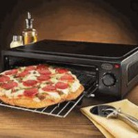 Nostalgia Electrics PBO-220BLK Countertop Pizza Baking Oven