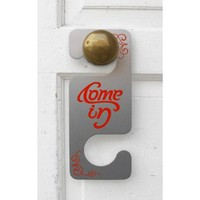 Come In/Go Away Door Hanger