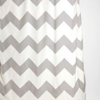 UrbanOutfitters.com &gt; Zigzag Shower Curtain
