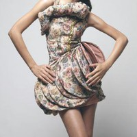 Multi Tiered/Ruffle Dress - CHEAYROCHELLE: Couch Couture F/W 2010 | UsTrendy