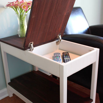 Hidden Storage Side Table From Cnlfurnishings On