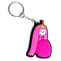 Adventure Time Rubber Keychain Princess Bubblegum
