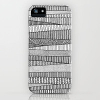 Fields in B&amp;W iPhone Case by Anita Ivancenko | Society6