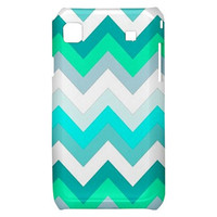 New Beautiful Tiffany Chevron Pattern Samsung Galaxy S i9000 Hardshell Case Cover Samsung Galaxy S i9000 Case Chevron Pattern