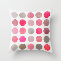 Colorplay 4 Throw Pillow by Garima Dhawan | Society6