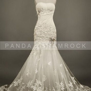 tulip wedding gown bridal from pandaandshamrock