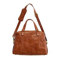 Women's ACCESSORIES - bags - The Leather Caravan Satchel - Madewell