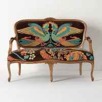 Louisa Settee, Cockatoo - Anthropologie.com