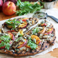 Rustic Grilled Peaches Pizza-8 | Flickr - Photo Sharing!