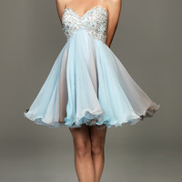 2012 Prom Dresses! Evenings By Allure-Lace And Tulle Sweetheart Cocktail Dress- Size 0-18 - Unique Vintage - Cocktail, Evening & Pinup Dresses