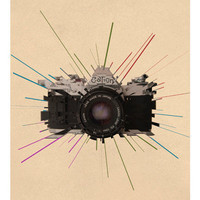 Photography A3 poster print vintage Canon Camera by BearAndRobot