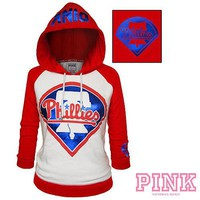 Amazon.com: Philadelphia Phillies Victoria's Secret PINK� Raglan Pullover Hoodie: Sports & Outdoors