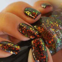 1 NEW Kleancolor Nail Polish Art Varnish 3d Glitter Design