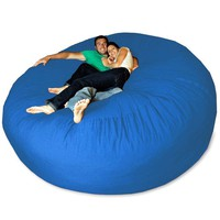 Micro Suede Giant Bean Bag Chair at BrookstoneBuy Now!