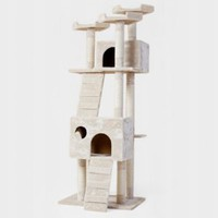 "Amazon.com: New 72"" ""The Siamese"" Cat NapTM Cat Tree Condo Pet Furniture Scratching Post Pet House Premium Quality: Pet Supplies"