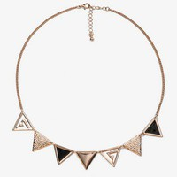 Triangle Necklace | FOREVER 21 - 1024187132
