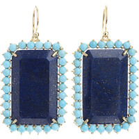 Irene Neuwirth Lapis & Turquoise Earrings | Barneys New York