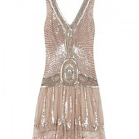 Infinity Sequin Flapper Dress