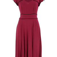 Pink bow front dress - Brands at DP - Clothing - Dorothy Perkins