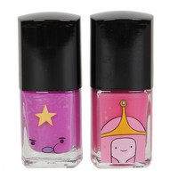 Adventure Time Princess Bubblegum & Lumpy Space Princess Nail Polish 2 Pack - 150498
